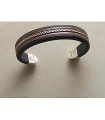sterling braid cuff