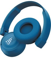 audífono jbl t450bt bluetooth on ear - azul