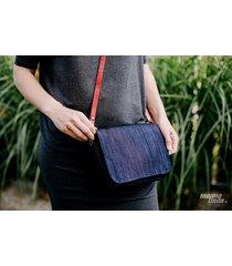 marmollada - torebka z bawełny ts granatow jeans