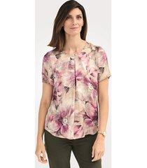 blouse mona olijf::roze