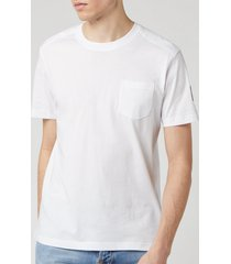 belstaff men's thom t-shirt - white - xxl