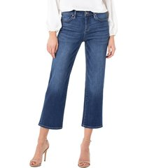 women's liverpool stevie high waist crop jeans