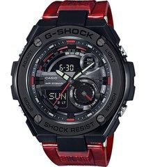 reloj g-shock modelo gst_210m_4a rojo hombre