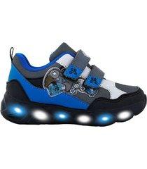 zapatilla azul footy hi joystick