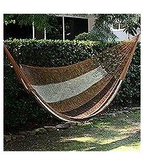 hammock, 'near the sea' (double) (mexico)
