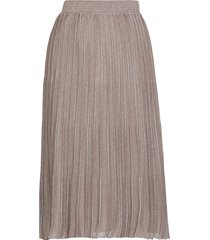 fabiana filippi lurex pleated skirt