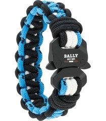 bally parkho cord bracelet - blue