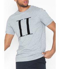 les deux encore t-shirt t-shirts & linnen grå/svart