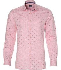 nils overhemd - slim fit - roze