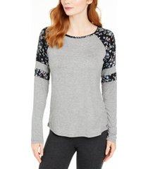 vera bradley rae raglan pajama t-shirt, online only