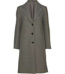 barnsbury coat wollen jas lange jas groen filippa k