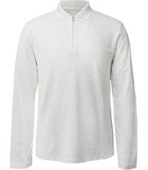 alfani men's long-sleeve ottoman quarter-zip polo shirt, created for macy's