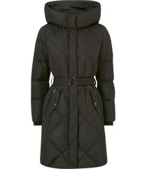 dunkappa cozy belted coat