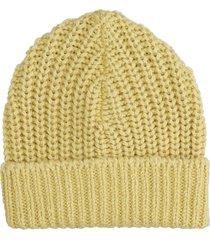 isabel marant joyce hats in yellow wool