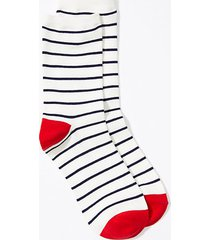 loft striped crew socks