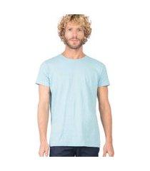 t-shirt básica mescla comfort az tqs az tqs/gg