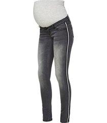 zwangerschapsjeans streepdetail