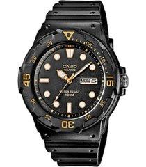 reloj casio mrw_200h_1ev negro resina
