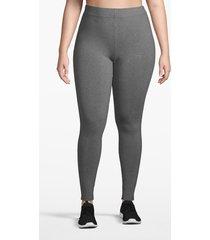 lane bryant women's active essential legging 26/28 medium heather gray