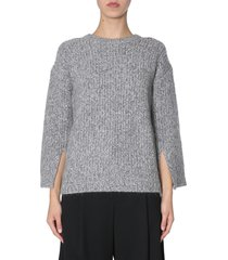 michael michael kors sweater with slits on sleeves