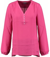 tommy hilfiger fuchsia blouse polyester