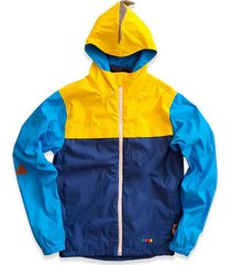 chaqueta impermeable big chami amarillo