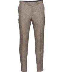 denz trousers casual broek vrijetijdsbroek beige oscar jacobson