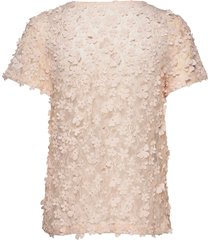 biscotti top blouses short-sleeved rosa ida sjöstedt