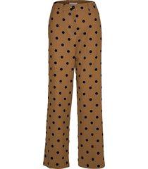john, 705 wool tailoring vida byxor brun stine goya