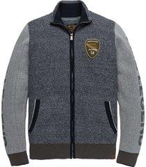 zip jacket cotton salute