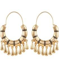 t tahari gypsy revival gypsy hoop earring