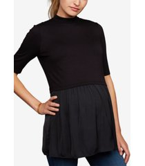 a pea in the pod maternity layered-look top