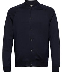 slhshayne bomber sweat jacket w bomberjack jack blauw selected homme