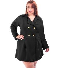 casaco sig estilo sobretudo plus size tamanhos grandes