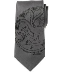 game of thrones targaryen dragon men's tie