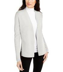 alfani petite full needle sweater coat, created for macy's