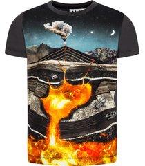 molo charcoal grey ravento t-shirt
