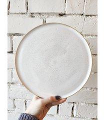 ceramiczny talerz śniadaniowy pure