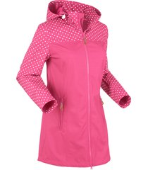 giacca fantasia in softshell (fucsia) - bpc bonprix collection