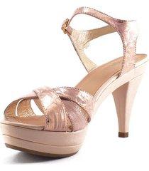sandalia oro rosa oro/003163