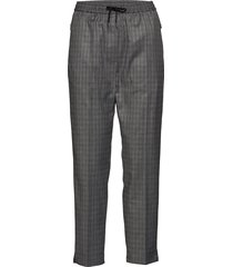 cleo pantalon met rechte pijpen grijs won hundred
