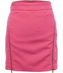 mini falda cierres rosa nicopoly
