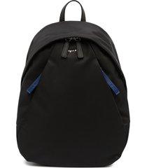 agnès b. classic tonal backpack - black
