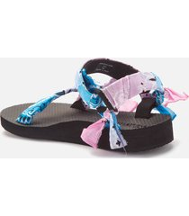 arizona love women's trekky bandana sandals - tdy blue pink - uk 8