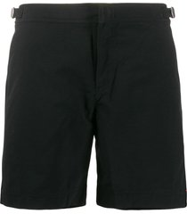 orlebar brown bulldog mid-length swim shorts - black