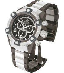 reloj invicta 13014_out acero, gunmetal acero inoxidable