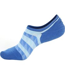 uomo autunno caldo cotone barca calze strisce in mesh traspirante caviglia invisibile calze