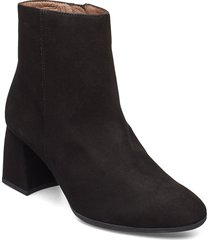i-7704 shoes boots ankle boots ankle boots with heel svart wonders