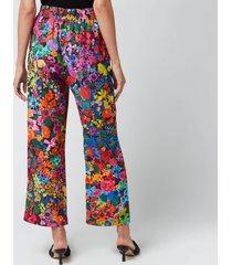 stine goya women's debra trousers - 60's allover - s