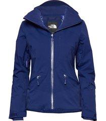 w lenado jacket fiery red outerwear sport jackets blå the north face